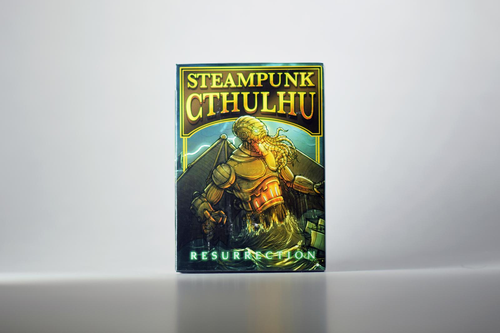 Cthulhu Steampunk Green