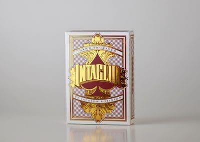 Intaglio Red