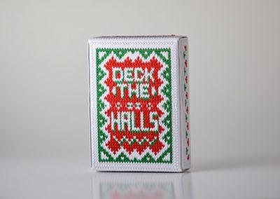 Deck the Halls White