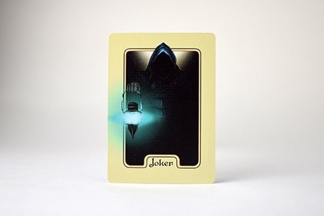 Name of the Wind Chandrian Alternate custom playing cards joker art photo.