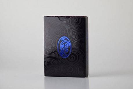Name of the Wind Chandrian Alternate custom playing cards back view of box photo.
