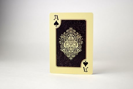 Name of the Wind Chandrian custom playing cards ace photo.