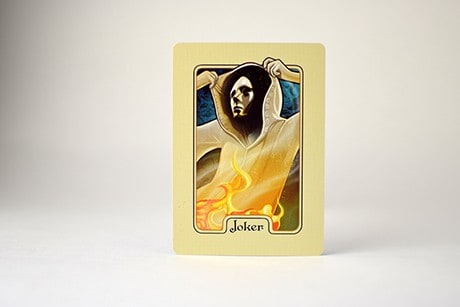 Name of the Wind Chandrian custom playing cards joker photo