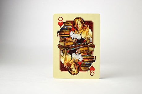 Name of the Wind Selas Alternate custom playing cards queen photo