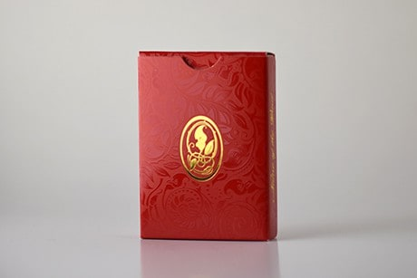 Name of the Wind Selas Alternate custom playing cards box backside photo.