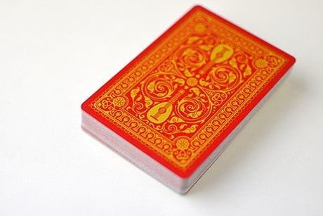 Name of the Wind Selas custom playing cards photo of full deck of cards.